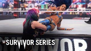 Sasha Banks and Asuka clash outside the ring: Survivor Series 2020 (WWE Network Exclusive)