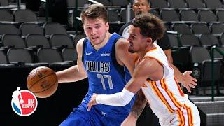 Trae Young (25/7/15) & Luka Doncic (28/10/10) go head-to-head [HIGHLIGHTS]   NBA on ESPN