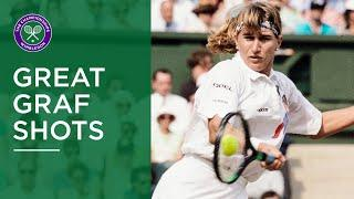 Steffi Graf | Great Wimbledon Forehands