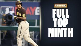 NLDS Game 2 Full Top 9th! Padres attempt comeback on the Dodgers!