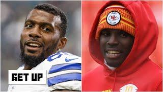 Reacting to Dez Bryant saying Tyreek Hill is the NFL's second-best player behind Mahomes | Get Up