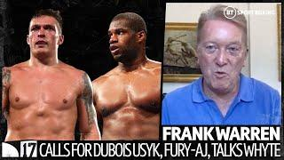 """If AJ vacates it will be Dubois v Usyk for WBO title!"" Frank Warren's Fury-AJ update, Dubois, Whyte"