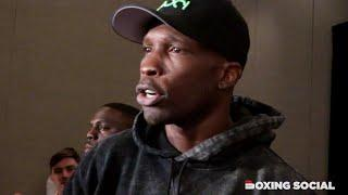 Former NFL star Chad Johnson talks boxing bout against Brian Maxwell on Mayweather-Paul undercard