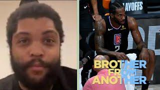 O'Shea Jackson Jr. throws shade on Clippers fans | Brother From Another | NBC Sports