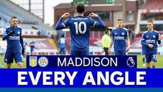 EVERY ANGLE | James Maddison vs. Aston Villa | 2020/21