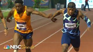 Rodgers/Cisse 100m duel comes down to photo finish in Zagreb | NBC Sports