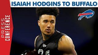 WR Isaiah Hodgins Drafted in the 6th Round by Buffalo Bills