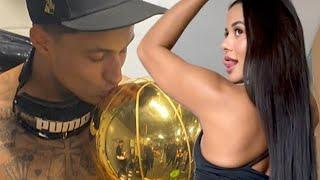 Lakers Fans Make Kuzma's Ex, Tyler Herro's Current GF Go Private On Twitter After Non-Stop Trolling