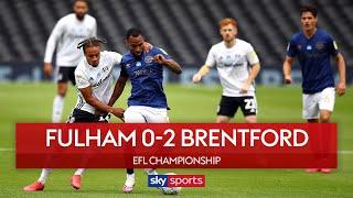 Benrahma and Marcondes late goals hand Brentford derby win! | Fulham 0-2 Brentford | EFL Highlights