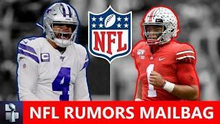 Dak Prescott Contract? + NFL Rumors On Allen Robinson, JJ Watt, Richard Sherman, Justin Fields | Q&A
