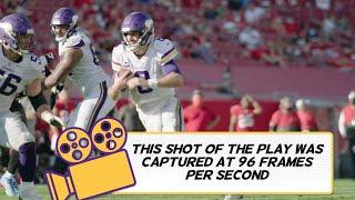 Pop-Up Highlight: Kirk Cousins Shows Off His Wheels against Tampa Bay Buccaneers | Vikings Connected