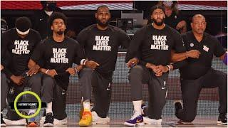How the NBA bubble has become a platform for social justice | Parting Shots | Outside the Lines