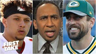 Stephen A. argues why Aaron Rodgers is more valuable than Patrick Mahomes   First Take