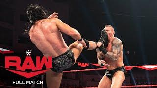 FULL MATCH - Randy Orton vs. Drew McIntyre: Raw, Jan. 20, 2020