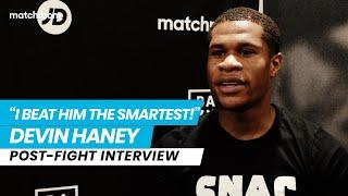 """""""I want all the belts!"""" Devin Haney reacts to dominant victory over Yuriorkis Gamboa"""