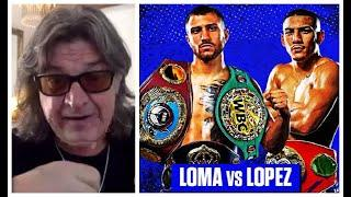 'LOMA WILL HAVE A TORRID FIRST 4 OR 5 ROUNDS!' - GARETH A DAVIES BREAKS-DOWN LOMACHENKO v LOPEZ