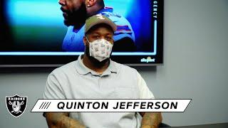 Quinton Jefferson Ready To Get To Work in the Desert   2021 NFL Free Agency   Las Vegas Raiders
