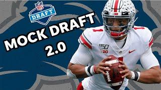 NFL Mock Draft 2.0: Will the Lions go for Justin Fields at quarterback?