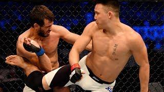 Wildest Spinning Finishes in UFC History