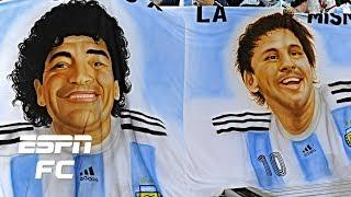 Diego Maradona vs. Lionel Messi: Who is the greatest football icon? | ESPN FC