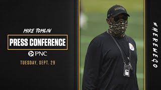 Press Conference (Sept. 29): Coach Mike Tomlin | Week 4 at Tennessee Titans