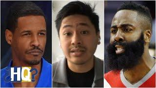 Is Stephen Silas right to give James Harden space? | Highly Questionable