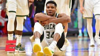JWill reacts to Giannis' sit-down celebration | KJZ