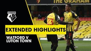 JOÃO PEDRO'S DERBY DAY WINNER! | WATFORD 1-0 LUTON TOWN | EXTENDED HIGHLIGHTS