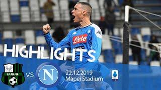 Highlights Serie A - Sassuolo vs Napoli 1-2