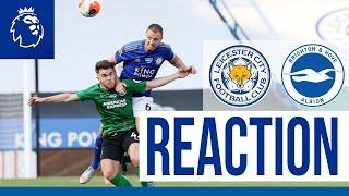 'We Didn't Create Enough' - Jonny Evans | Leicester City 0 Brighton & Hove Albion 0