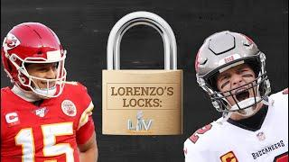Bucs or Chiefs? Who you got in Super Bowl 55?  Lorenzo's Locks