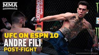 UFC on ESPN 10: Andre Fili Happy Judges 'Got It Right: 'I Just Want To Buy A House' - MMA Fighting