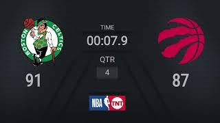 Celtics @ Raptors | NBA on TNT Live Scoreboard | #WholeNewGame