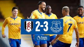 FULHAM 2-3 EVERTON | BLUES BACK TO WINNING WAYS AS DCL STRIKES TWICE | PREMIER LEAGUE HIGHLIGHTS