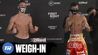 Josh Taylor & Apinun Khongsong Make Weight, Unified Title Fight Official | WEIGH-IN