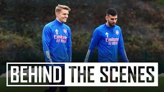 Martin Odegaard's first day | Behind the scenes at Arsenal training centre