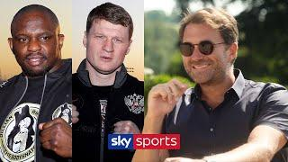 EXCLUSIVE! Eddie Hearn discusses Matchroom's Fight Camp and it's EPIC conclusion Whyte vs Povetkin!