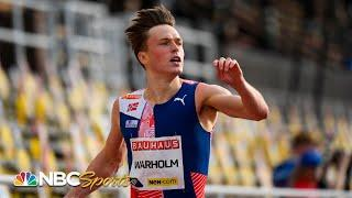 Karsten Warholm takes aim at 400m hurdle world record in Ostrava | NBC Sports