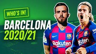 Why Griezmann DOES NOT start for Barcelona in 20/21!  Who's In