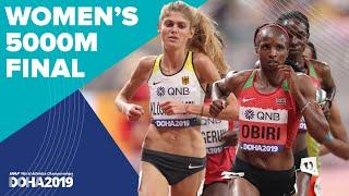 Women's 5000m Final | World Athletics Championships Doha 2019