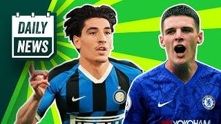 Should Bellerin leave Arsenal for Inter? + Lampard wants Rice swap deal!  Daily News