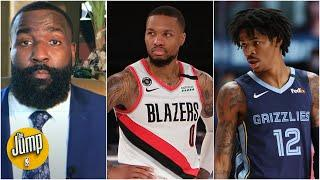Who wins the Western Conference play-in: Grizzlies or Blazers? | The Jump