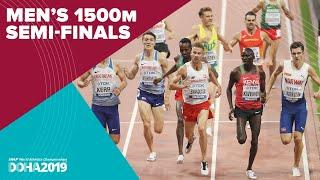 Men's 1500m Semi-Finals | World Athletics Championships Doha 2019