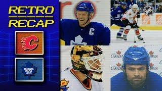 Sundin's dramatic 500th goal | Retro Recap | Flames vs Maple Leafs