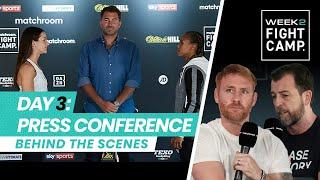 Fight Camp 2: Day 3 - Harper vs Jonas (Behind The Scenes) Press Conference