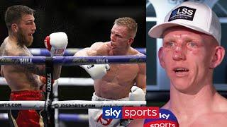 Ted Cheeseman's emotional response after thrilling fight with Sam Eggington
