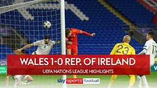 Brooks header secures Wales win! | Wales 1-0 Republic of Ireland | UEFA Nations League Highlights