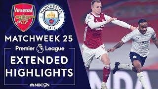 Arsenal v. Manchester City | PREMIER LEAGUE HIGHLIGHTS | 2/21/2021 | NBC Sports