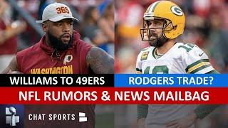 NFL Rumors & News: Trent Williams Trade, Aaron Rodgers Future, 2020 NFL Draft + Raiders Rumors I Q&A