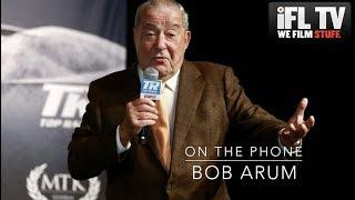 BOB ARUM REACTS TO DEONTAY WILDER'S NEW COMMENTS ABOUT HIS LOSS & TYSON FURY 'NOT BEING A CHAMPION'
